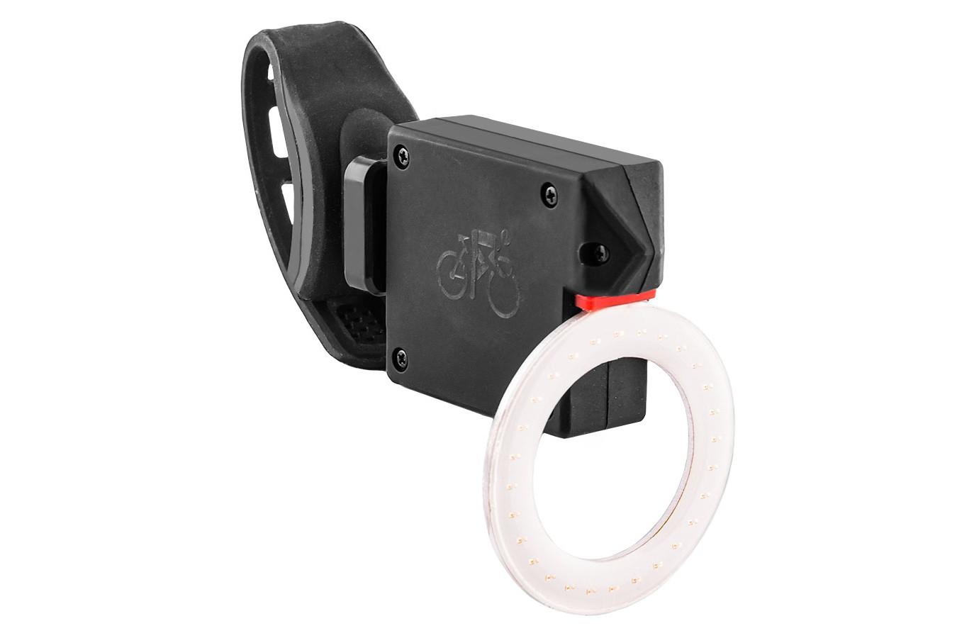 Vista light traseiro recarregável USB Comet - LL