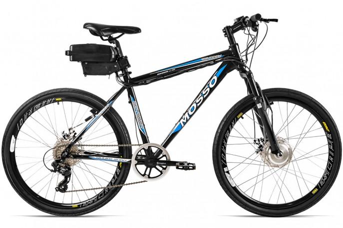 "Bicicleta elétrica alumínio aro 26"" Lithium 350W - Mosso"