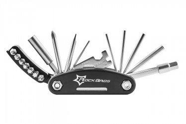 Canivete multiuso para bike 16 funções Rockbros