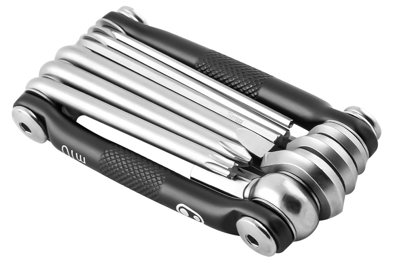 Canivete Multi-10 polido 10 Funções Crank Brothers