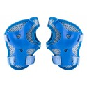 Capacete de Ciclismo Infantil azul com Kit de Proteção