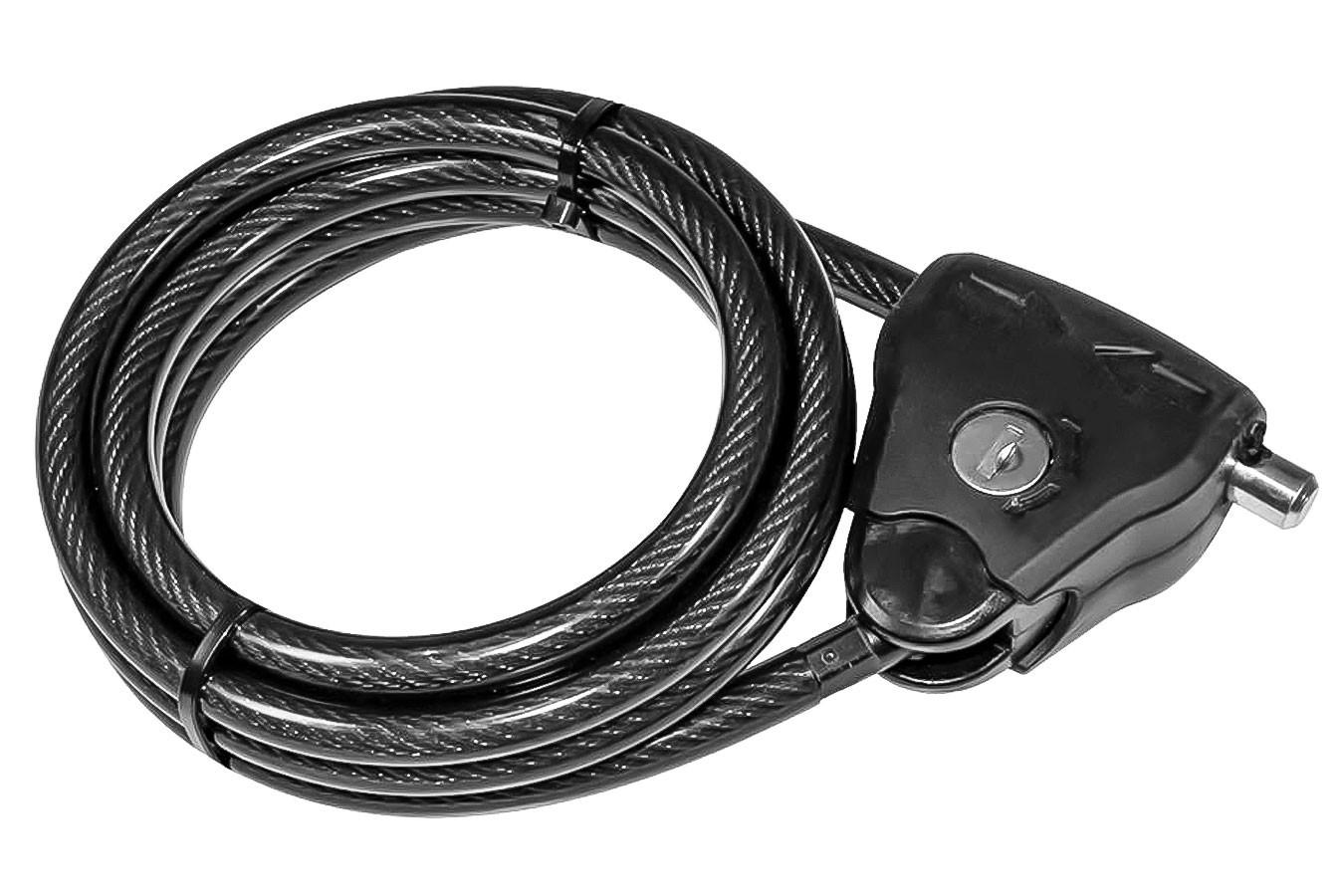 Cadeado para bike ajustável 10x2100mm CL445 - Xplore