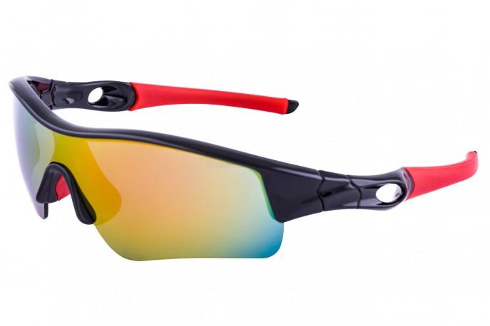 Óculos para ciclistas com lente espelhada 1005 - Rockbros