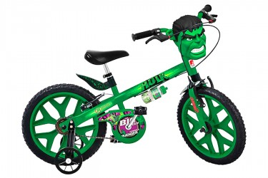 Bicicleta 16 Infantil Hulk - Bandeirante