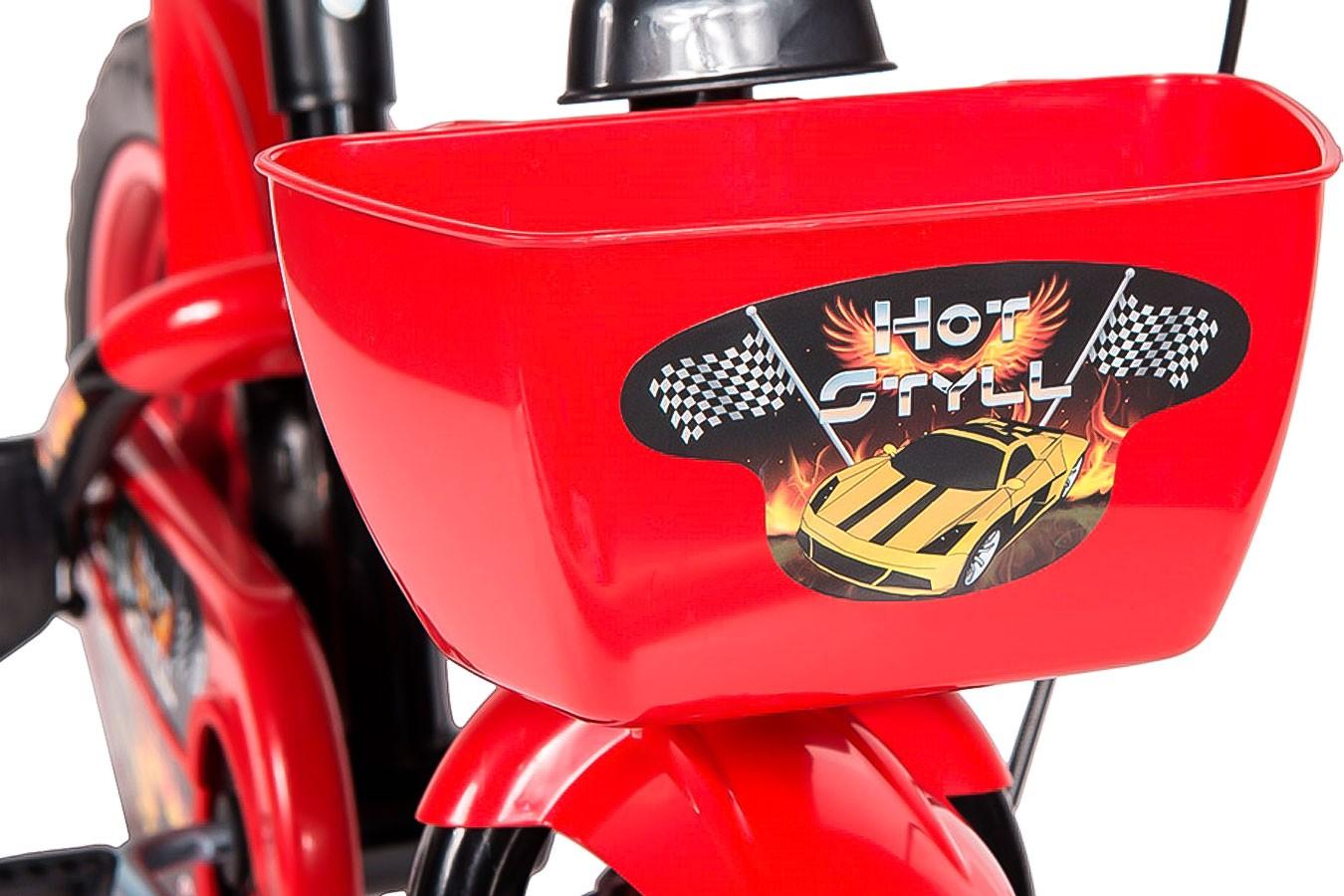 Bicicleta 12 Infantil Hot - Styll