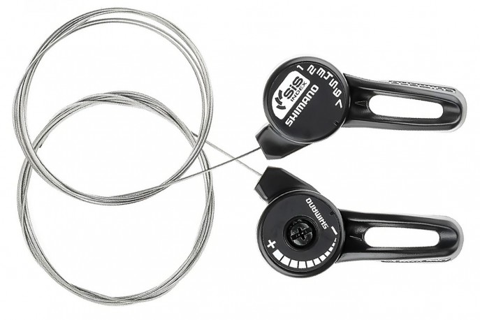 Alavanca Câmbio 21V Nylon index TZ20 Shimano