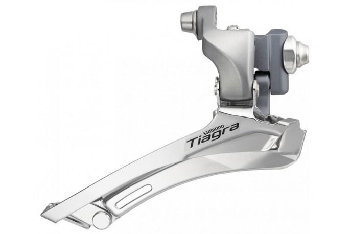 Cambio Dianteiro Shimano Tiagra FD-4600 Braze-on 10V