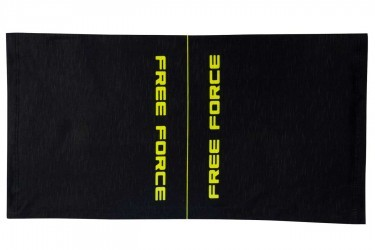 Bandana multiuso Line Preto/Amarelo Flúor Free Force