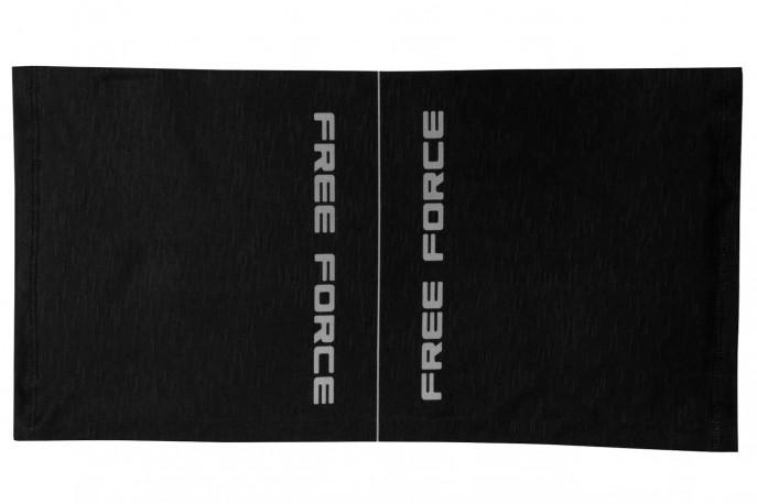Bandana multiuso Line Preto/Cinza Flúor Free Force