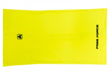 Bandana multiuso Basic Amarelo Flúor Free Force