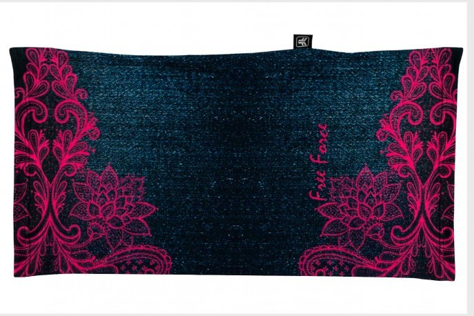 Bandana multiuso Denim Azul/Rosa Free Force