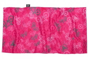 Bandana multiuso Bicycle Rosa Free Force