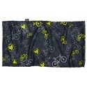 Bandana multiuso Bicycle Preto/Amarelo Free Force