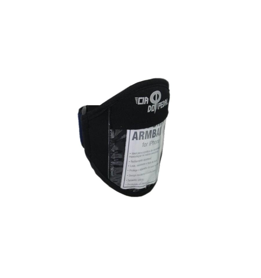 Porta Celular ou iPod de Braço Neoprene - Cia do Pedal