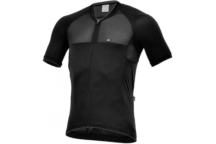 Camisa para Ciclista Elite All Black - Márcio May