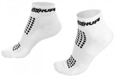 Meias Running Pro Branco/Preto - Hupi