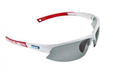 Óculos de ciclismo Giant Swift 2 Branco/Vermelho