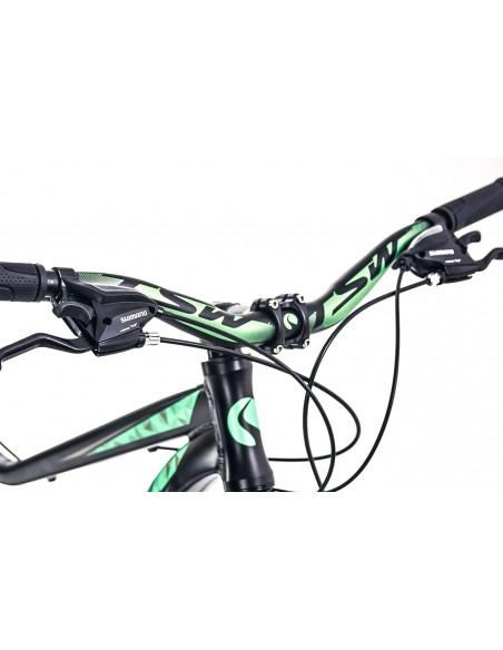 Bicicleta 29 Posh 21V Preta/Verde - TSW