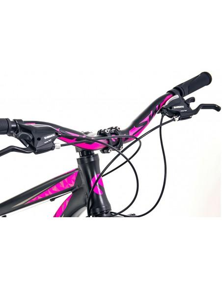 Bicicleta 29 Posh 21V Preta/Rosa - TSW
