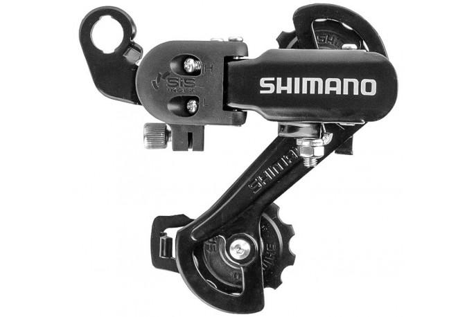 Câmbio traseiro Shimano TZ31 6/7V com ponteira