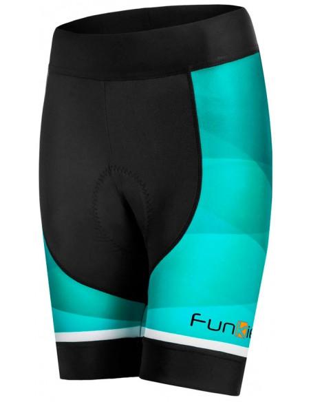 Bermuda de ciclista feminina Funkier Arona menta