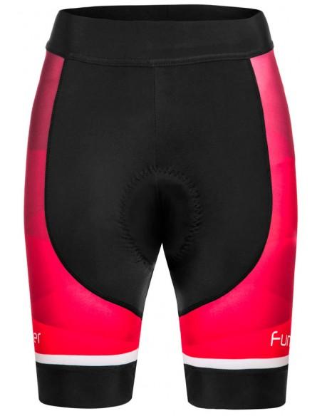 Bermuda de ciclista feminina Funkier Arona pink