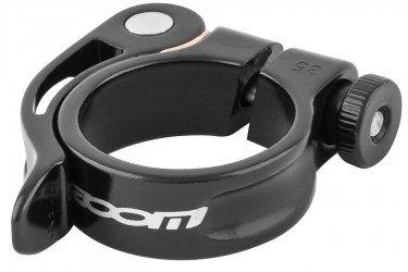 Abraçadeira de selim 35 mm AT101 em alumínio preta - Zoom