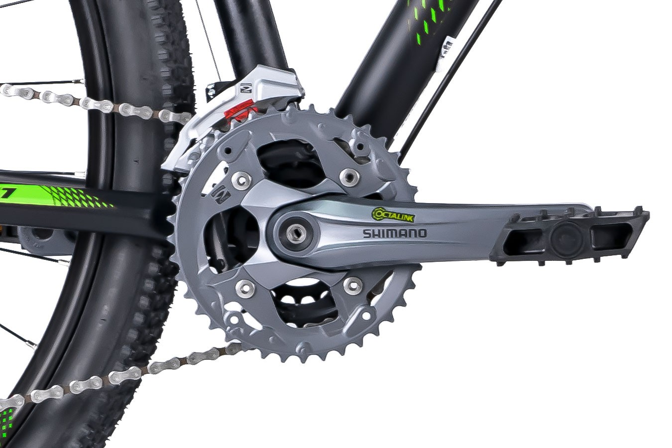 Bicicleta 29 Big Wheel 2019 7.1 preta Alumínio 27v Acera - Oggi