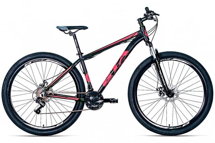 """Bicicleta 29"""" NX11 Rosa 21V Freio a Disco - GTA"""