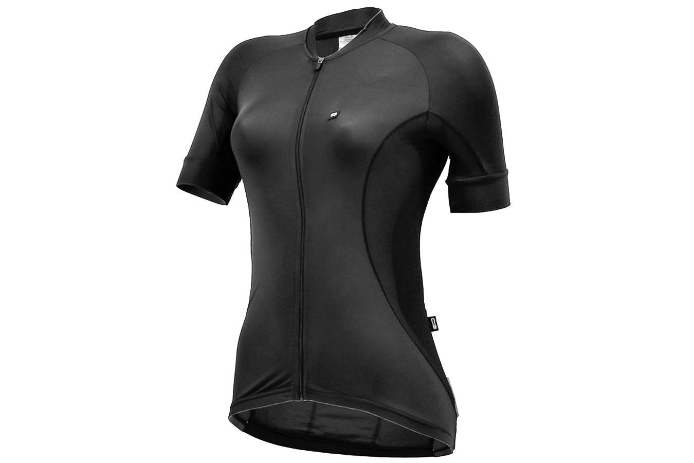 Camisa para Ciclista Feminina Ellegance All Black - Márcio May