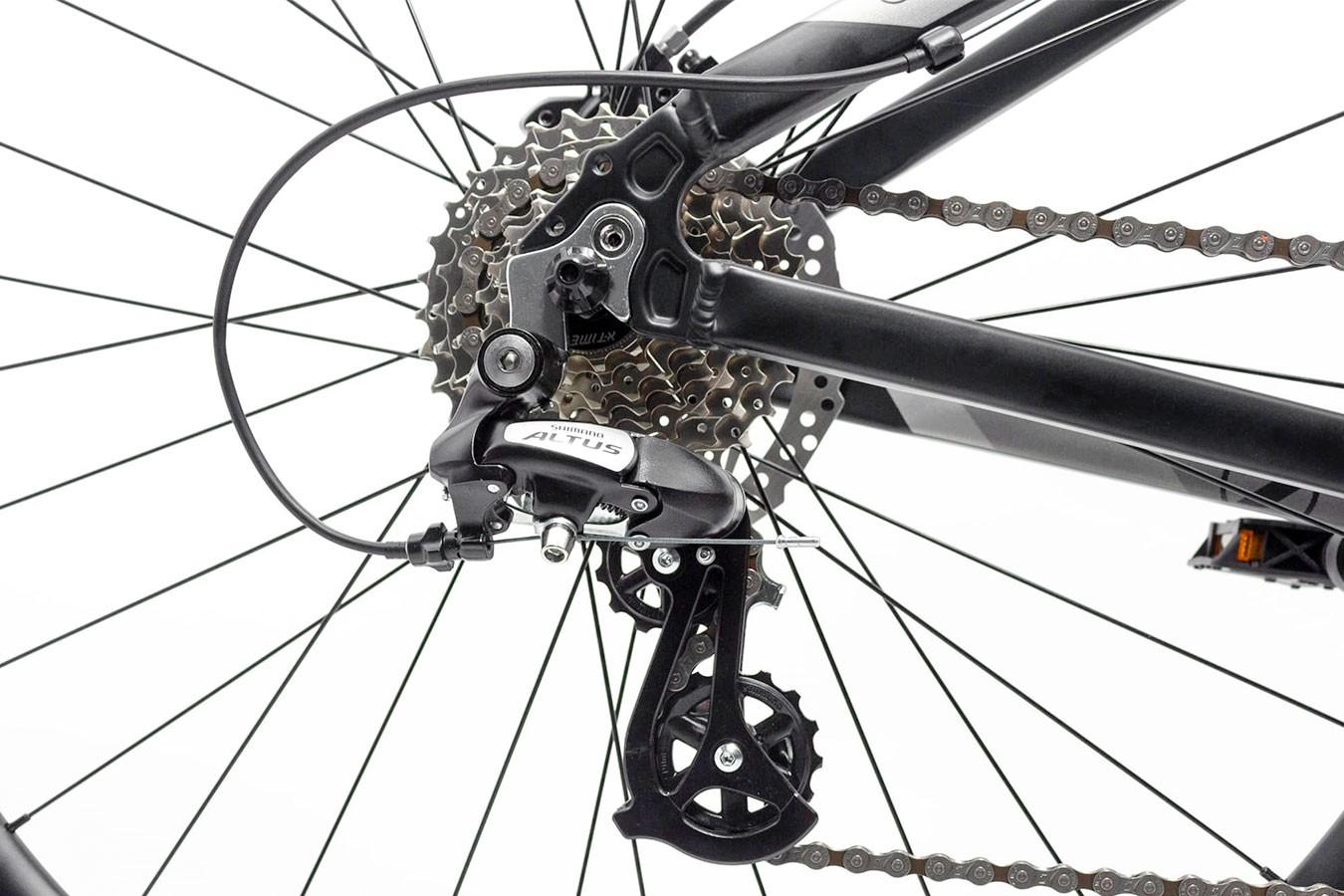 Bicicleta 29 Posh 24V Preta/Cinza 2019 - TSW