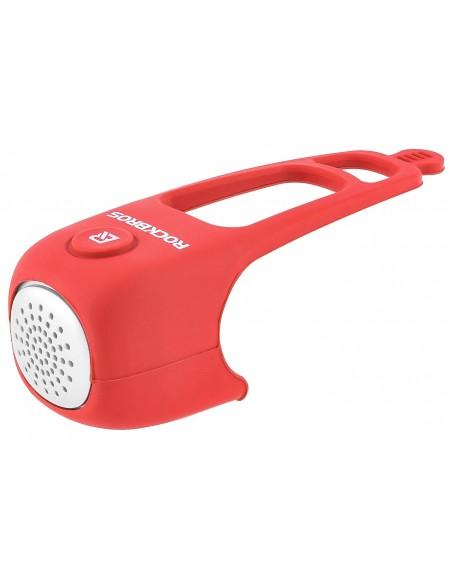 Buzina Eletrônica Vermelha para Bicicleta - Rockbros