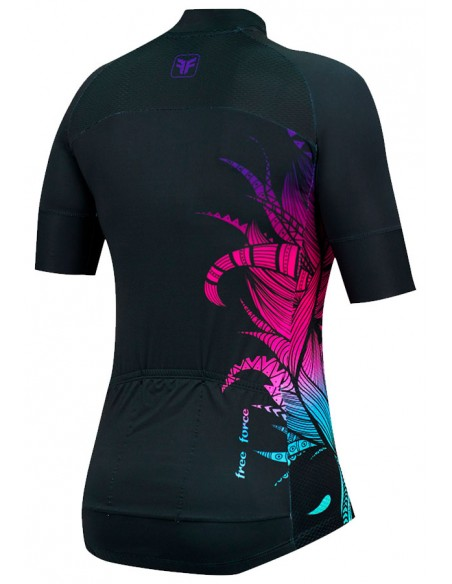Camisa Ciclista Feminina Training Boho - Free Force