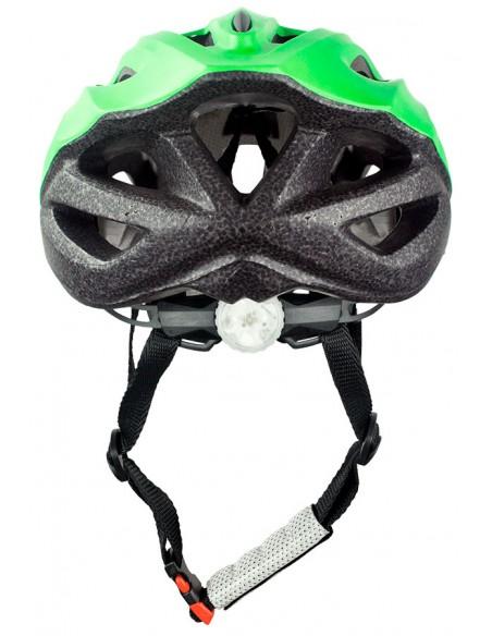 Capacete para ciclista verde MTB Walk com LED - TSW