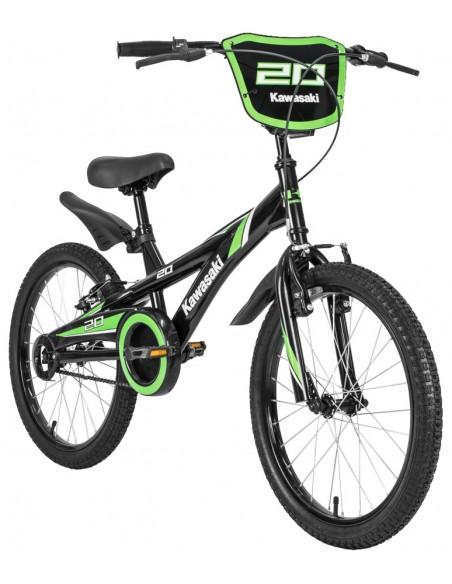 Bicicleta aro 20 Masculina Preta - Kawasaki