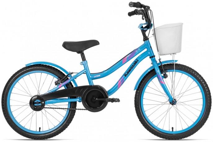 Bicicleta aro 20 Feminina Azul - Kawasaki