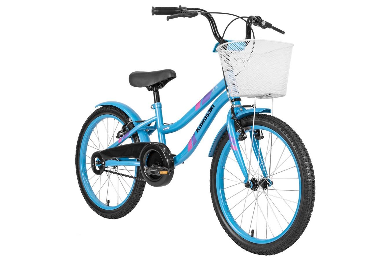 Bicicleta aro 20 Feminina Azul Tiffany - Kawasaki