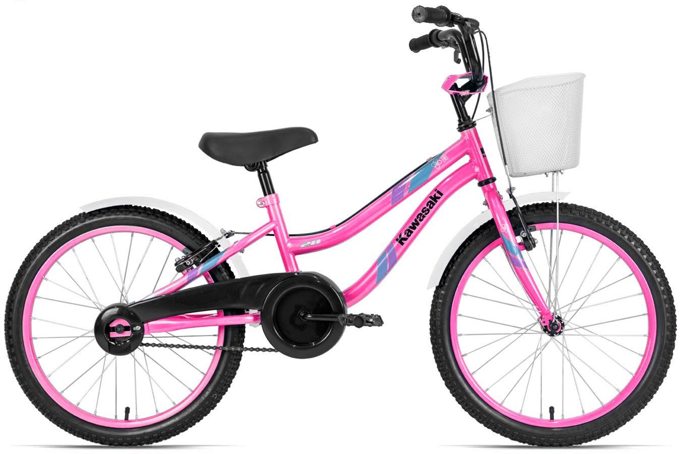 Bicicleta aro 20 Feminina Rosa - Kawasaki
