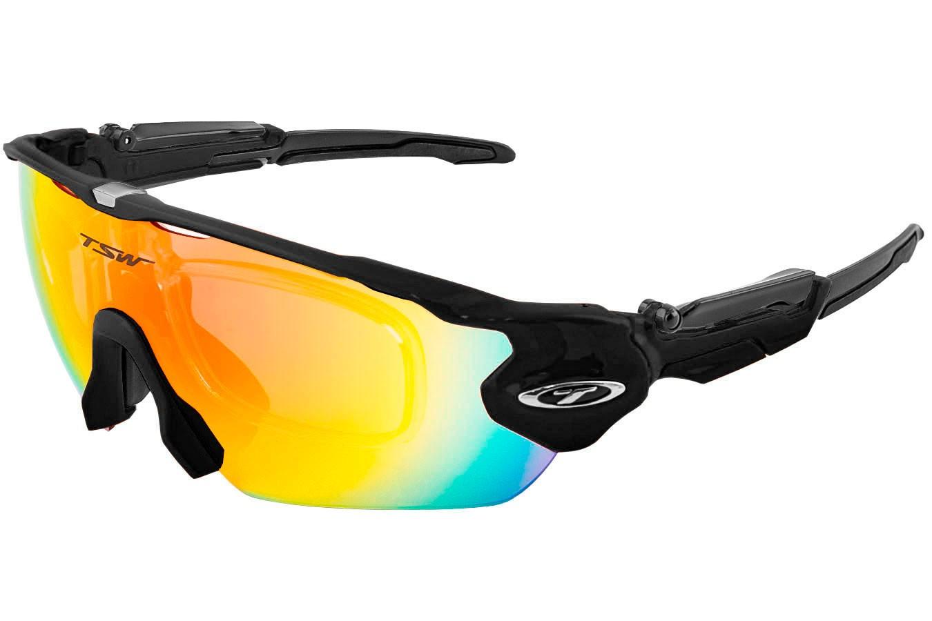 89a4cefc4b ... Óculos para ciclistas com 3 lentes Venom com Clip para Lente de Grau -  TSW. Previous
