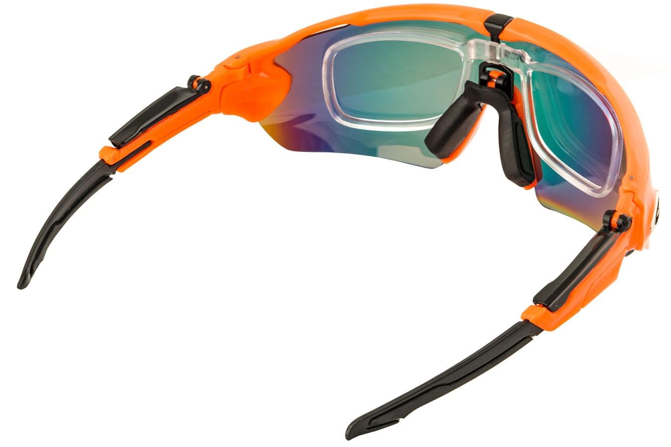 a943a935b4 Óculos para ciclistas com 3 lentes Venom com Clip para Lente de Grau ...