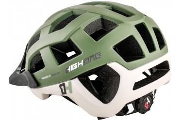 aa2e462f0 ... Capacete de ciclista MTB Speed Cervix Cinza   Verde militar High One 2