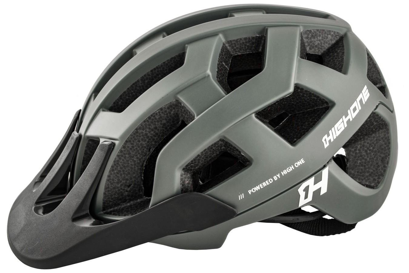 Capacete de ciclista MTB/Speed Cervix Cinza High One