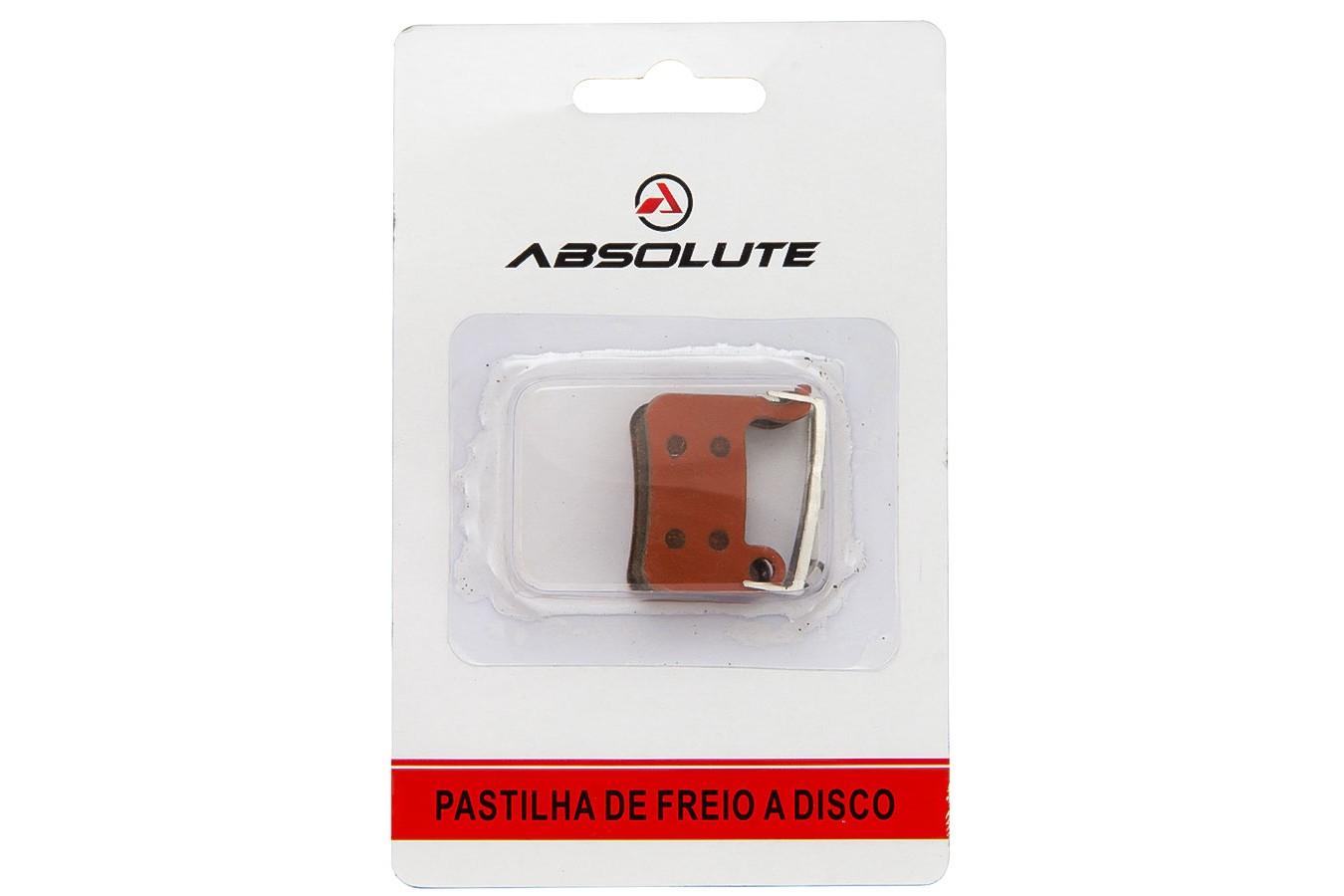 Pastilha Freio Disco Shimano Xt / Xtr / Saint - Absolute