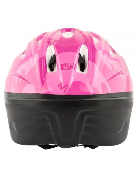 Capacete de Ciclismo Infantil Rosa com Sinalizador LED - Elleven