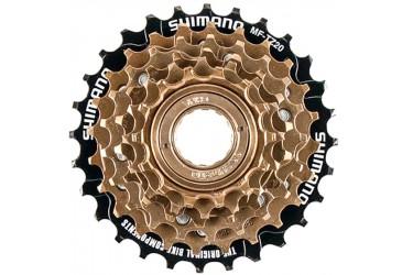 Roda livre 6V dourada index MF-TZ20 Shimano