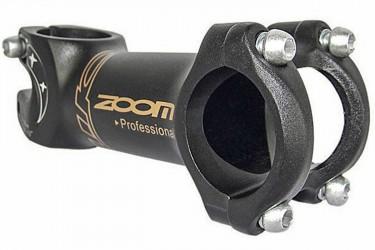 Suporte Guidão AHS Alumínio 31.8mmX100 Preto D261N - Zoom