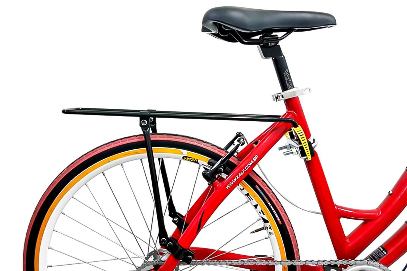 Bagageiro de bicicleta Flex modelo KF405PR - Kalf