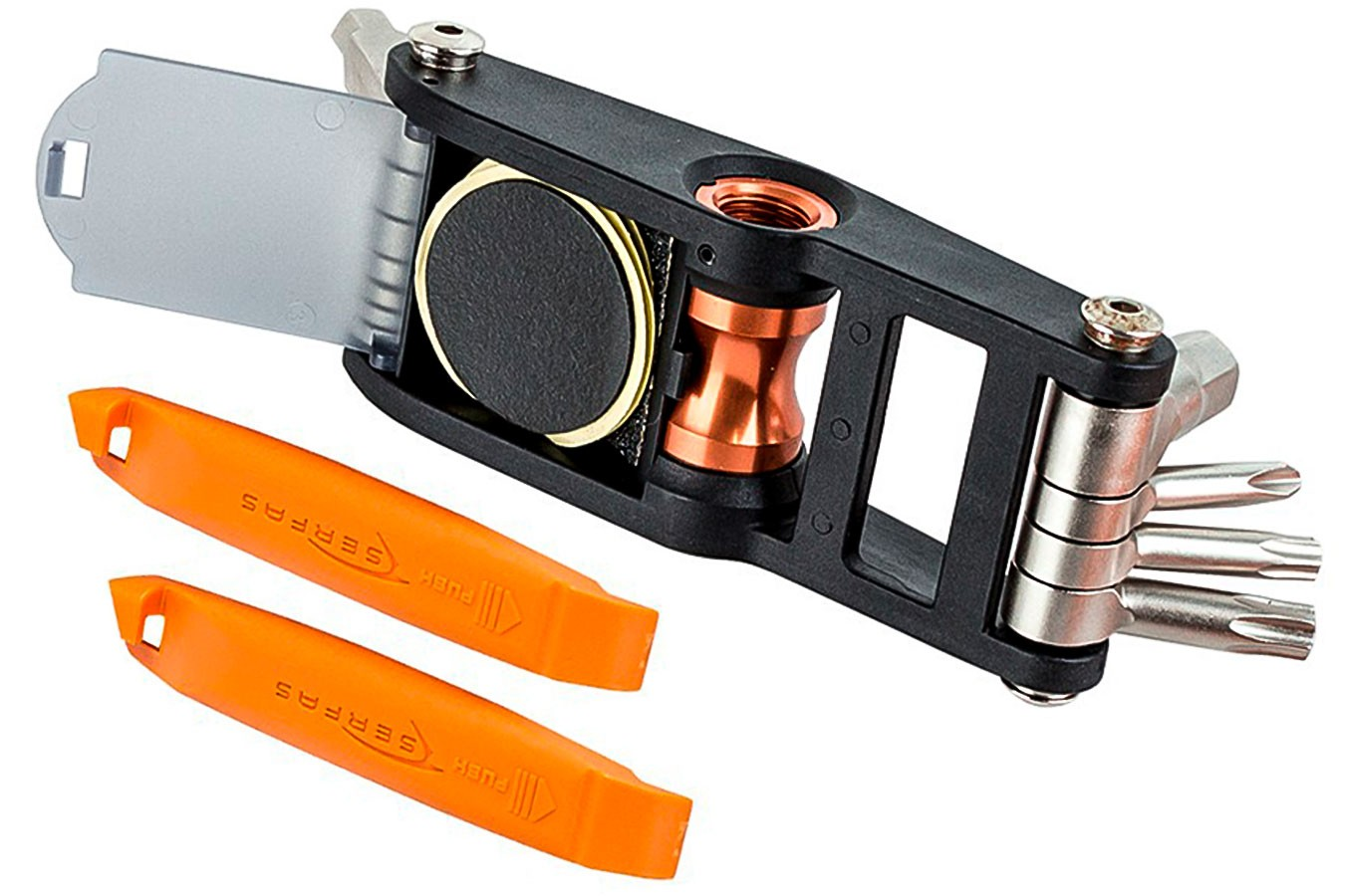 Kit Ferramentas Bike Canivete 15 funções ST-15L - Serfas