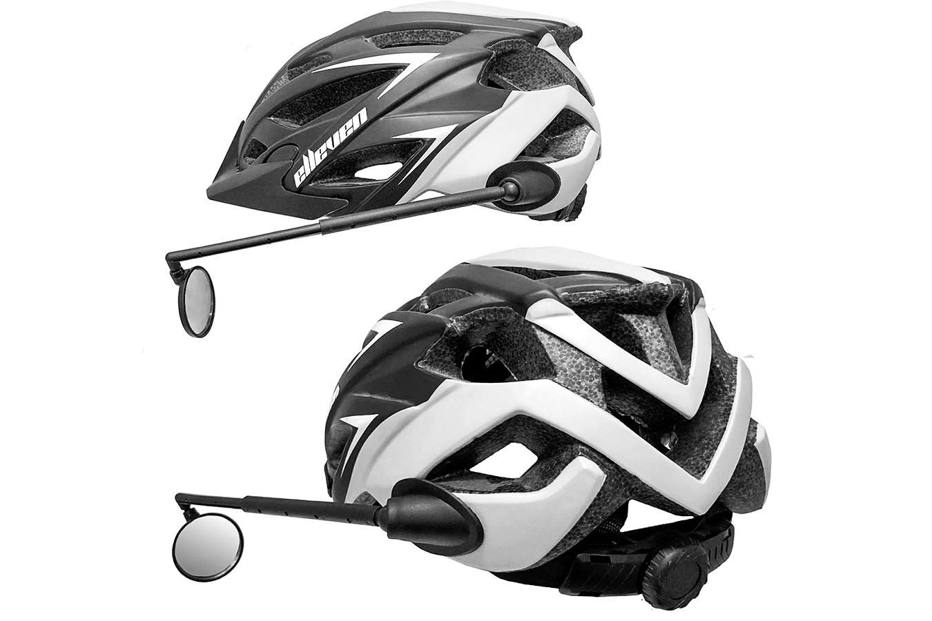 Espelho para Capacete de Ciclista Preto Elleven