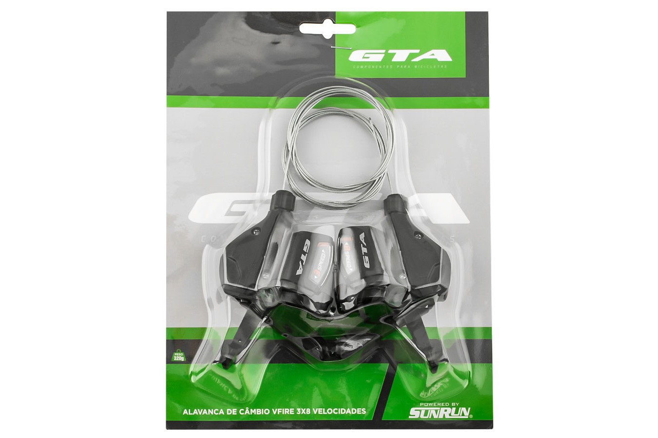 Alavancas de Câmbio 24v V-Fire Sem Maçanetas - GTA